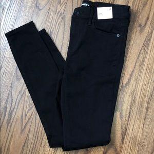 Express Black Stretch Skinny Jeans Size 6 NWT